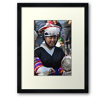 Traditional Korean Band Member 2 Framed Print