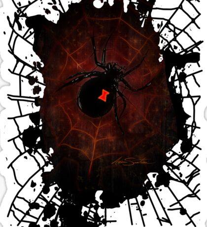 Black Widow (Signature Design) Sticker