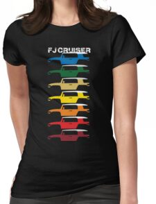 FJ Cruiser Color Womens Fitted T-Shirt