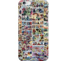 Comics vintage marvel and dc comics iPhone Case/Skin
