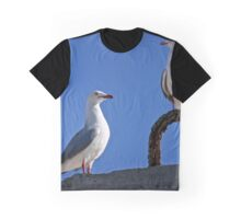 Seagull in Wollongong (5) Graphic T-Shirt