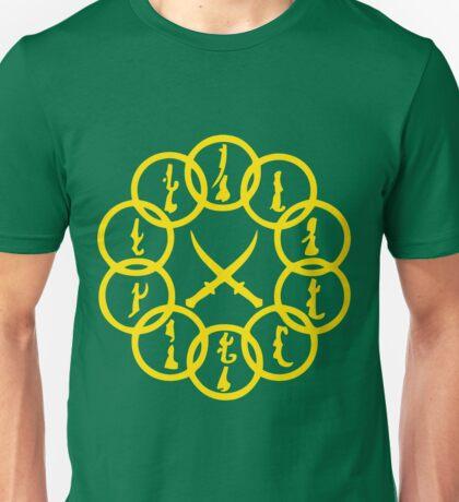 10 Rings Gold Unisex T-Shirt
