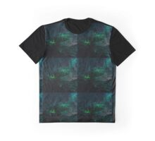 Dark Floral  Graphic T-Shirt