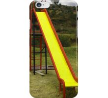 Painted Slide in a Playground iPhone Case/Skin
