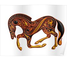 Celtic Pony Poster