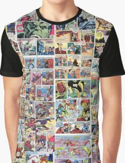 Comics vintage marvel and dc comics Graphic T-Shirt