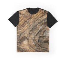 Rock Formation around Wollongong (1) Graphic T-Shirt