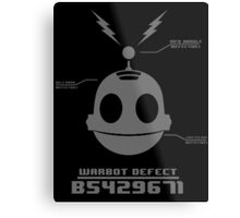 CLANK (ROBOT DEFECT B5429671) Metal Print