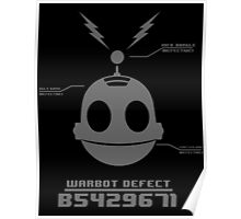 CLANK (ROBOT DEFECT B5429671) Poster
