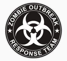 Zombie Outbreak Response Team Logo Baby Tee