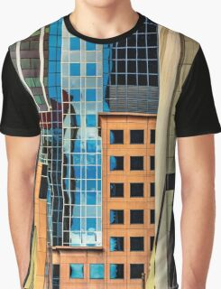 Melbourne Cityscape by Gaye G Graphic T-Shirt