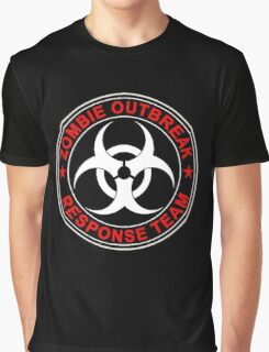 Zombie Response Team Bio Hazard Graphic T-Shirt