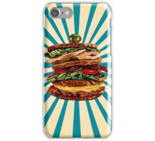 Turkey Club on Rye Sandwich iPhone Case/Skin
