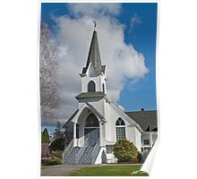Historic 1904 Lutheran Church Poster