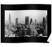 NEW YORK CITY SCAPE Poster