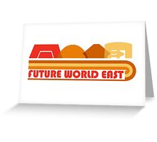 Future World East Greeting Card
