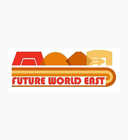 Future World East Photographic Print