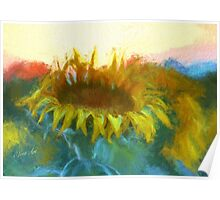Sunflower Glow Poster