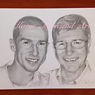 Father and Son  by Karen Townsend