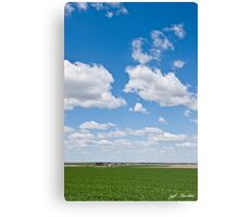 Winter Wheat Farm in the Palouse Canvas Print