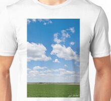 Winter Wheat Farm in the Palouse Unisex T-Shirt