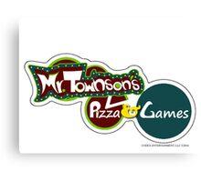 Mr. Townson's Pizza & Games Canvas Print