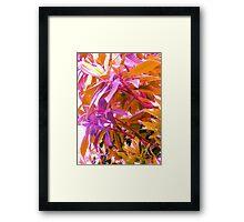 Floss Tree Framed Print