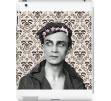Conrad Veidt Flower Crown iPad Case/Skin