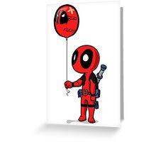 deadpool Greeting Card