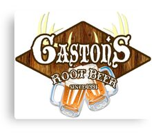 Gaston's Root Beer Canvas Print