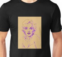 Marilyn Monroe - Yellow  Unisex T-Shirt