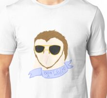 Don't Give a Hoot (with Text) Unisex T-Shirt