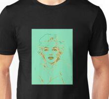 Marilyn Monroe - Green  Unisex T-Shirt
