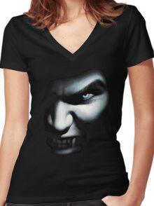 Vampire Women's Fitted V-Neck T-Shirt