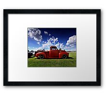 1954 Chevy 3100 Pickup Framed Print