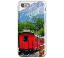 The End of the World Train iPhone Case/Skin