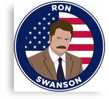 Ron Swanson - Parks and Rec Canvas Print