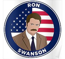 Ron Swanson - Parks and Rec Poster