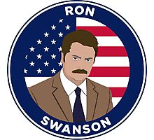 Ron Swanson - Parks and Rec Photographic Print