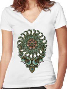 incadelica Women's Fitted V-Neck T-Shirt