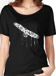 Splatter Eagle (white) Women's Relaxed Fit T-Shirt