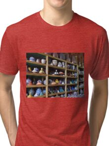 Wall of Pottery Tri-blend T-Shirt