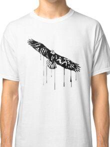 Splatter Eagle (black) Classic T-Shirt