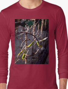 The Box Spring Fence Long Sleeve T-Shirt