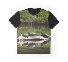 Turtles Lounging in The Sunshine Graphic T-Shirt