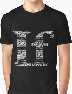 If poem | White Graphic T-Shirt
