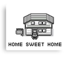 Pokemon Home Sweet Home Canvas Print