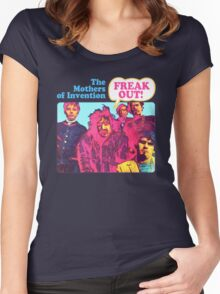 The Mothers Of Invention - Freak Out Women's Fitted Scoop T-Shirt