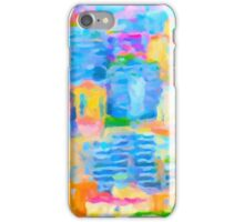 Monaco Abstract iPhone Case/Skin