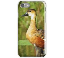 Wandering Whistling Duck  iPhone Case/Skin